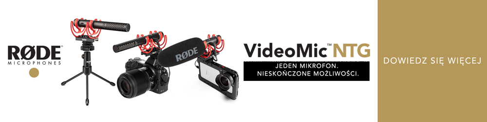 Rode Wideo Mic 1000x252