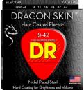 DR DSE 9-42 DRAGON SKIN struny powlekane do gitary elektrycznej