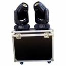 PG LED 2x Ruchoma głowa SPOT BEAM 280W + CASE