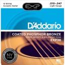 D'Addario EXP38 10-47 - struny do gitary akustycznej 12-str