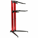 STAY Keyboard Stand PIANO 120cm 2 poziomy Red statyw pod keyboard