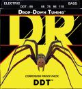 DR struny do gitary basowej DDT stalowe 55-115