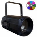PG LED Reflektor Par 200W COB biały + tarcza kolorów ZOOM
