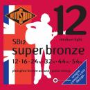 Rotosound SB12 [12-54] brąz fosforowy struny do gitary akustycznej