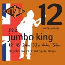 Rotosound JK12  [12-54] brąz fosforowy struny do gitary akustycznej
