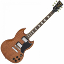 Vintage VS6 - Electric Guitar Natural Mahogany