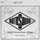 Rotosound NP017 - Struna do gitary elektrycznej 17 stalowa