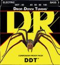 DR struny do gitary basowej DDT stalowe 40-100