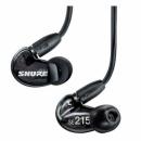 Shure SE215-K-E - Słuchawki douszne czarne