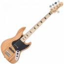 Vintage Gitara basowa VJ75MNAT NATURAL ASH