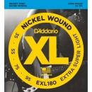 D'Addario EXL180 35-95 - struny do gitary basowej