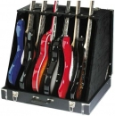 Stagg GDC 6 - futerał (walizka) na 6 gitar elektrycznych