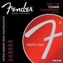 Fender 7250-6M Struny do gitary basowej 6-str.
