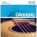 D'Addario EJ38 10-47 - struny do gitary akustycznej 12-str