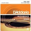 D'Addario EZ900 10-50 - struny do gitary akustycznej
