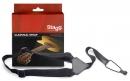 Stagg SNCL001-BK - pasek z regulacją do gitary klasycznej lub ukulele