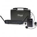 Stagg SUW-30-HSS-B - nagłowny system bezprzewodowy UHF