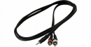 RockCable RCL 20904  Kabel  mały jack stereo - 2 x RCA