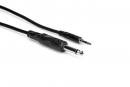 Hosa - Kabel Interconnect TS 6.35mm - TRS 3.5mm, 1.5m