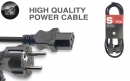 Stagg SPW1,5IECFPEU15 - kabel zasilający