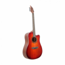 FLYCAT C200 RD CEQ Gitara elektroakustyczna