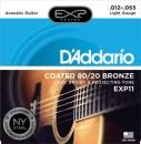D'Addario EXP11 NY 12-53 - struny do gitary akustycznej