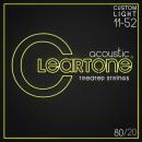 Cleartone struny do gitary akustycznej 80/20 Bronze 11-52