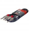 Stagg STC 3 P - kabel połączeniowy, podwójny, 3m.