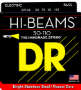 DR struny do gitary basowej HI-BEAM stalowe 50-110
