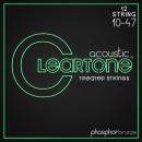 Cleartone struny do gitary akustycznej Phosphor Bronze 10-47 12-str