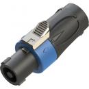 Roxtone Wtyk głośnikowy RS4F-N niebieski
