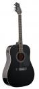 Stagg SW-201 EQ BK - gitara elektroakustyczna