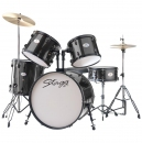 Stagg TIM 122 BK - akustyczny zestaw perkusyjny