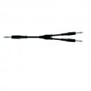 Proel BULK535LU3 - Kabel stereo 2x-mono jack - 3m