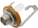 Gniazdo Jack 6.3 stereo montażowe metal 2195#