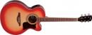 Vintage VEC350FSB Cherry SunBurst - gitara elektroakustyczna