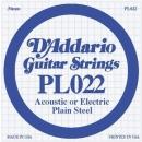 D'Addario PL022 struna .022