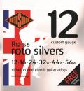 Rotosound R12-56 Silvers [12-56] niklowane struny do gitary elektrycznej