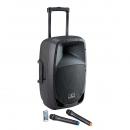 Soundsation GO-SOUND 12AMW 800W - kolumna aktywna, trolley + 2 mikrofony