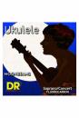 DR UFSC UKULELE CLEAR SOPRAN CONCERT struny do ukulele sopran/koncert