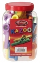 Stagg KAZOO 30 - kolorowe kazoo, opakowanie 30 szt.