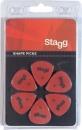 Stagg SPSTD X6-1.00 - kostki gitarowe