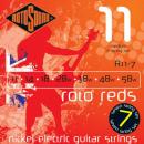 Rotosound R11-7 - 7 strun Medium [11-58] niklowane do gitary elektrycznej