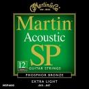 Martin MSP-4600 Phosphor Bronze 10-47 - struny do gitary akustycznej 12str