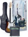 Stagg ESURF 250 SB - gitara elektryczna z wyposażeniem