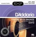 D'Addario EXP13 11-52 - struny do gitary akustycznej