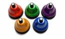 Dzwonki Chroma-Notes® naciskane - zestaw chromatyczny w kolorach Bum Bum Rurek®