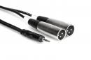 Hosa - Kabel Breakout TRS 3.5mm - 2 x XLRm, 3m