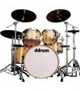 Ddrum Dominion Maple DM 22 BK - akustyczny zestaw perkusyjny