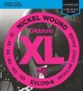 D'Addario EXL170-6 32-130 - struny do gitary basowej
